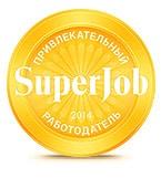 """«Blesk InCare» best_employer2014_big """"Привлекательный работодатель 2014"""" по мнению сайта SuperJob"""